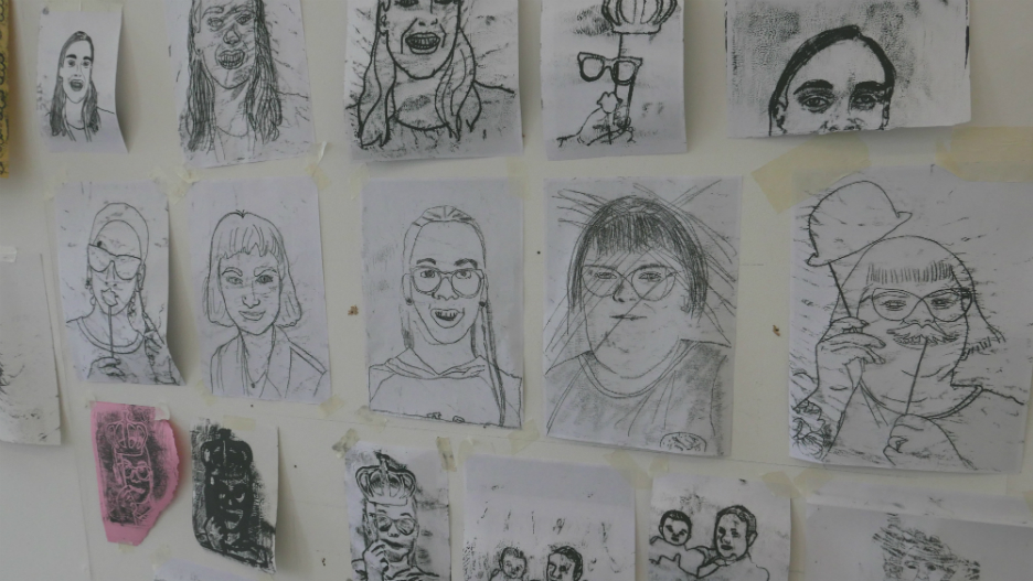 Art School for Rebel Girls exhibition, 2018