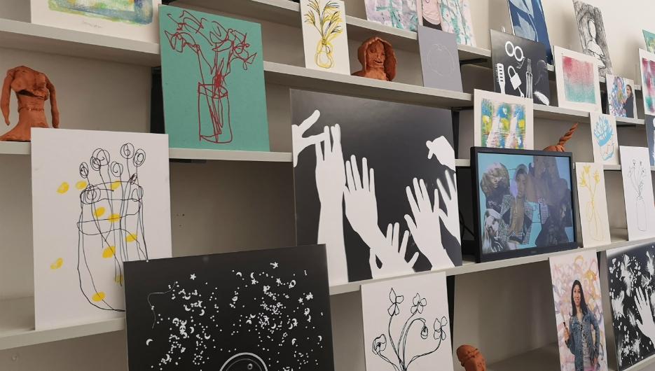 Art School for Rebel Girls exhibition, 2019